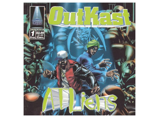 Outkast, 'Atliens' album cover artwork