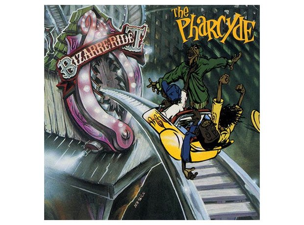 The Pharcyde, 'Bizarre Ride II the Pharcyde' album cover artwork
