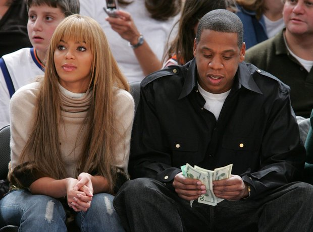 Jay Z with Money
