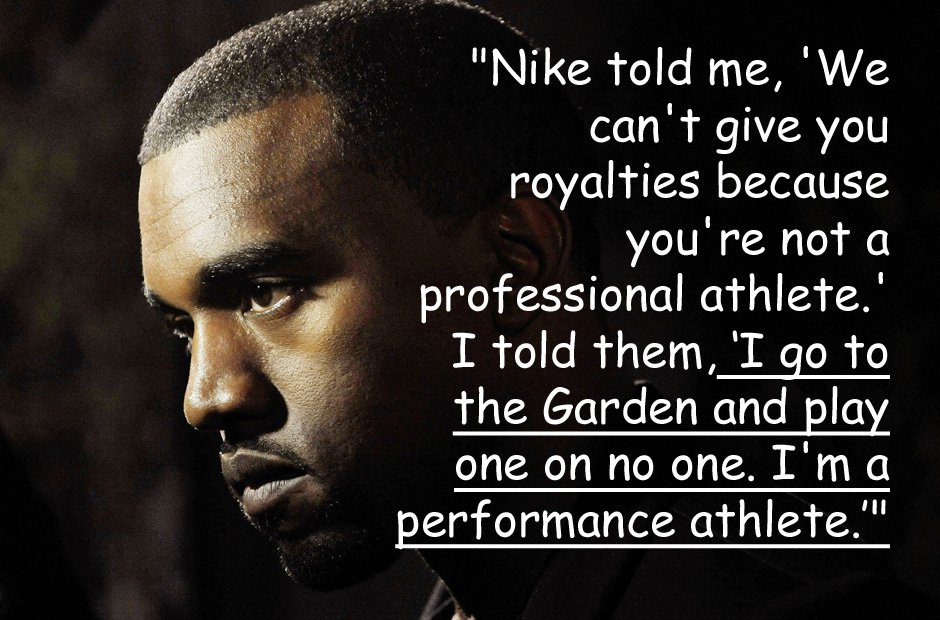 Kanye West on Nike quote