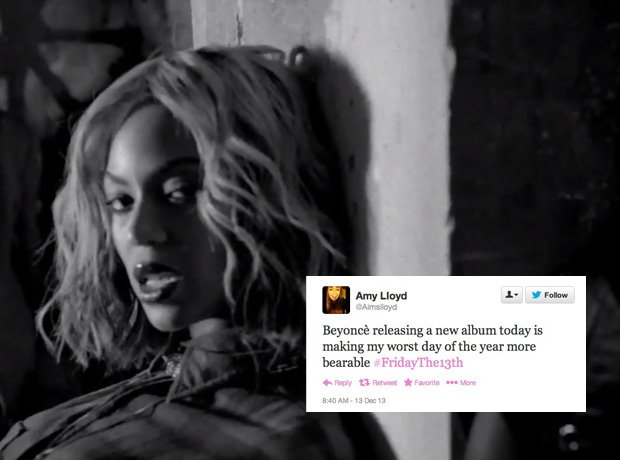 Beyonce new album Twitter reaction