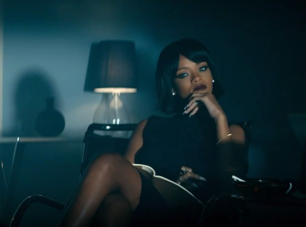 Eminem And Rihanna 'The Monster' video still