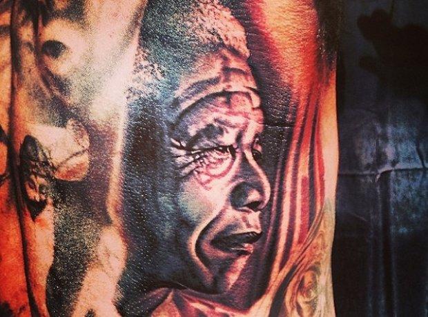 The Game's Nelson mandela Tattoo