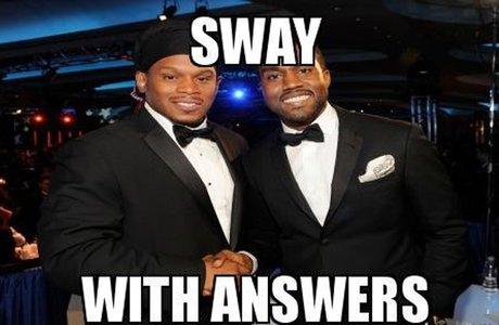 Sway Answers Kanye MEME