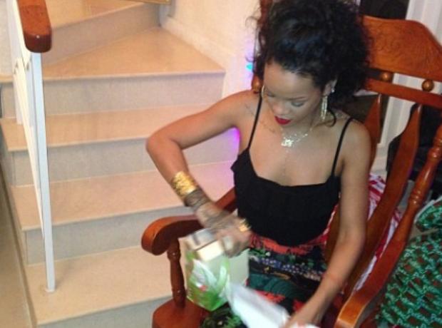 Rihanna Christmas