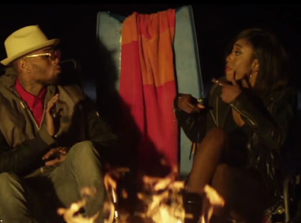 Chris Brown Sevyn Streeter It Wont Stop Video
