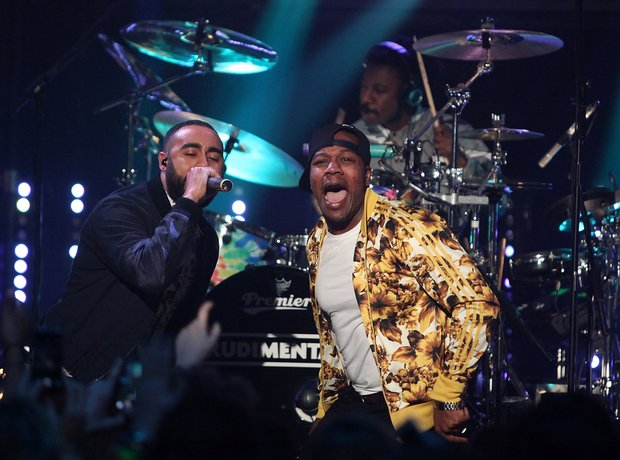 Rudimental BRIT Awards nominations 2014 live