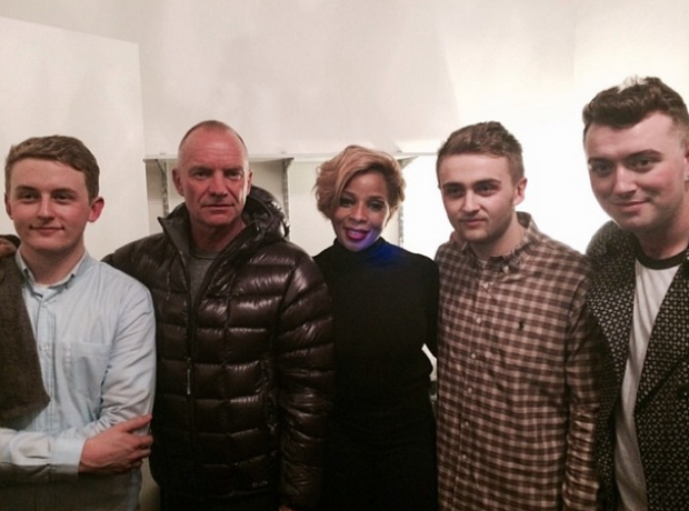Disclosure, Sam Smith, Sting, Mary J Blige