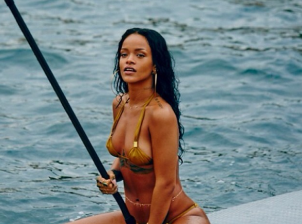Rihanna holiday