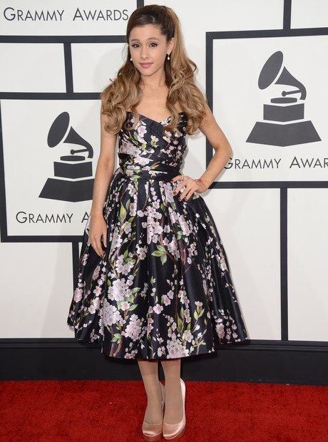 Ariana Grande at the Grammy Awards 2014