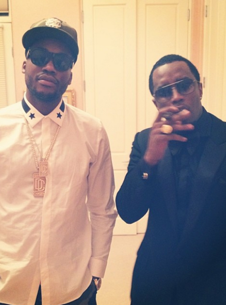 Diddy and Meek Mill Instagram