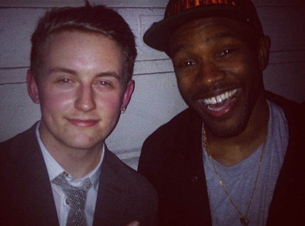Disclosure and Frank Ocean Instagram