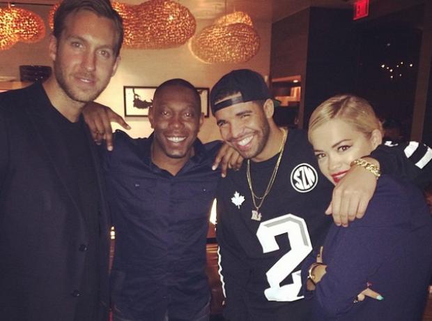 Drake Rita Ora Calvin Harris Dizzee Rascal