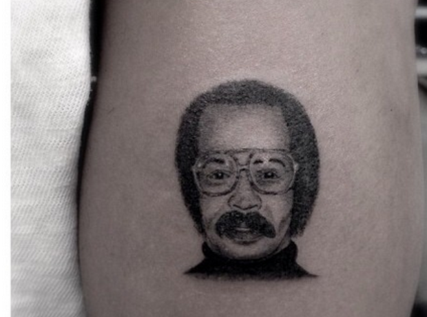 Drake tattoo of his dad