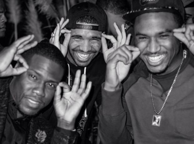 Drake Trey Songz Kevin Hart Instagram