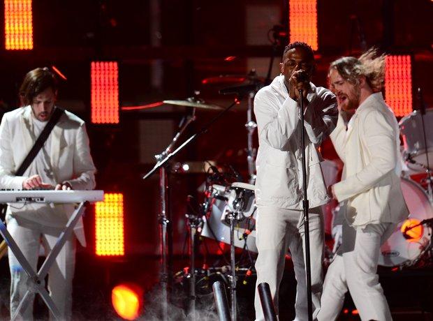 Kendrick Lamar and Imagine Dragons