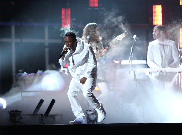 Kendrick Lamar live at the Grammy Awards 2014