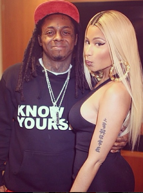 Lil Wayne and Nicki Minaj Instagram