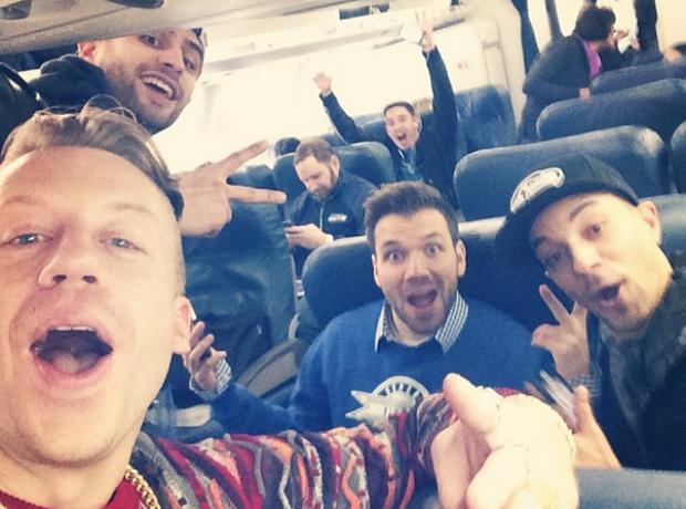 Macklemore Selfie