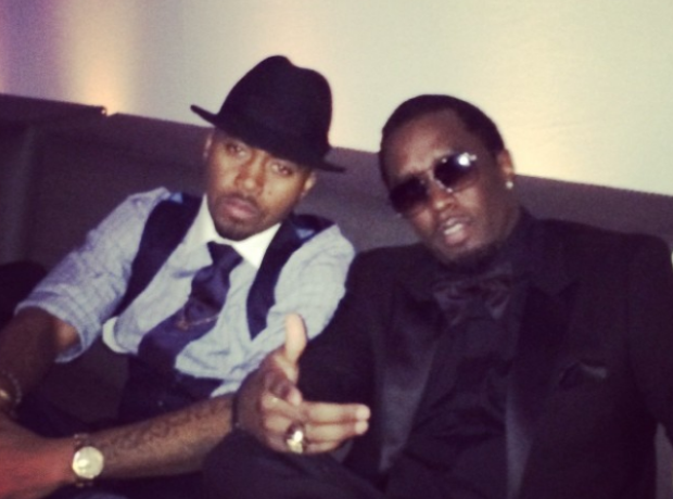 P Diddy and Nas Instagram