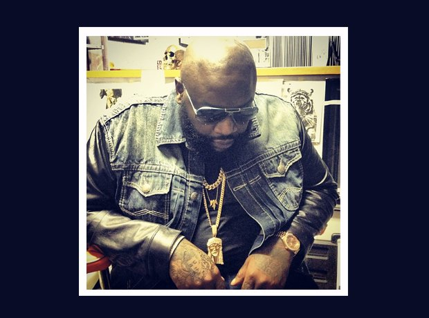 Rick Ross Instagram chains