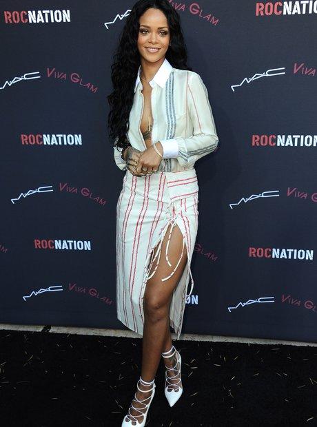 Rihanna Pre-Grammy Awards 2014 Party
