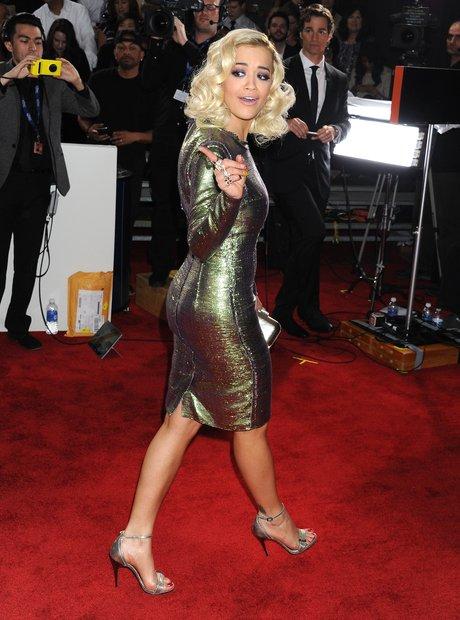 Rita Ora at the Grammy Awards 2014