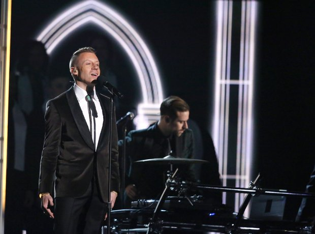 Ryan Lewis and Macklemore live at the Grammy Award