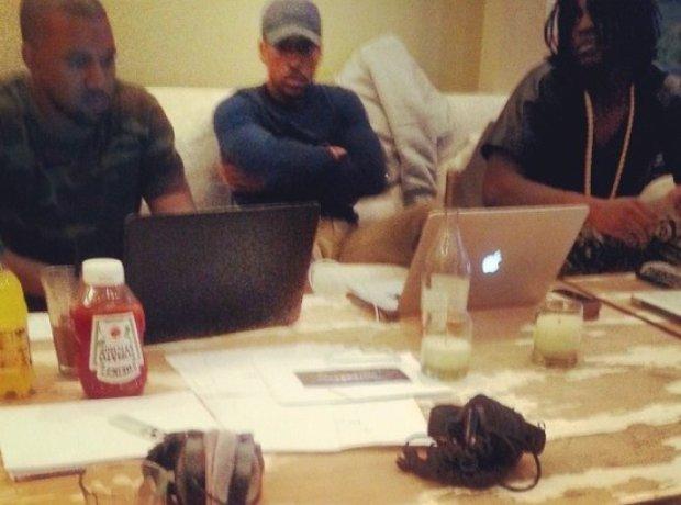 Kanye West Chief Keef instagram