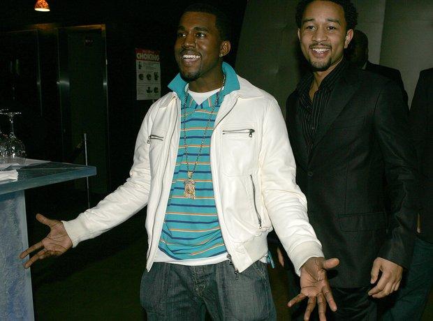 Kanye West John Legend 2005