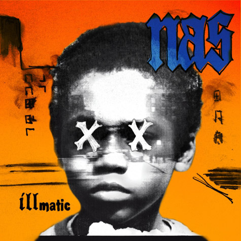 Nas new Illmatic artwork