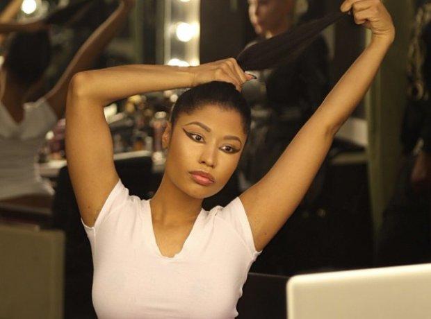 Nicki Minaj selfie on instagram