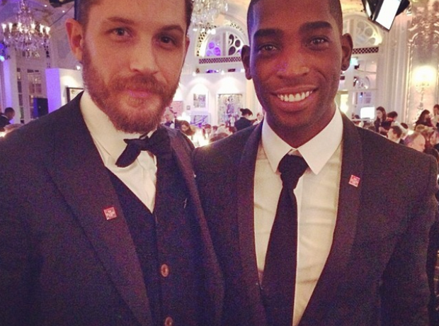 Tinie Tempah and Tom Hardy