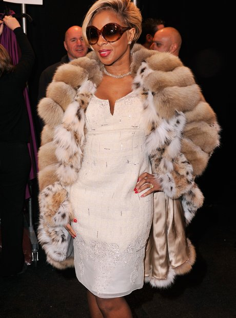 Mary J Blige  NY Fashion week