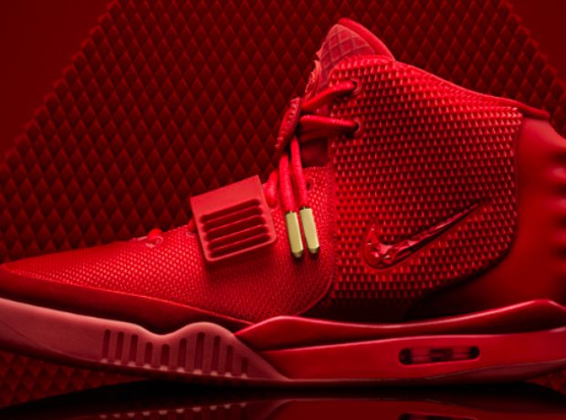 Nike Air Yeezy 2 Red October trainer