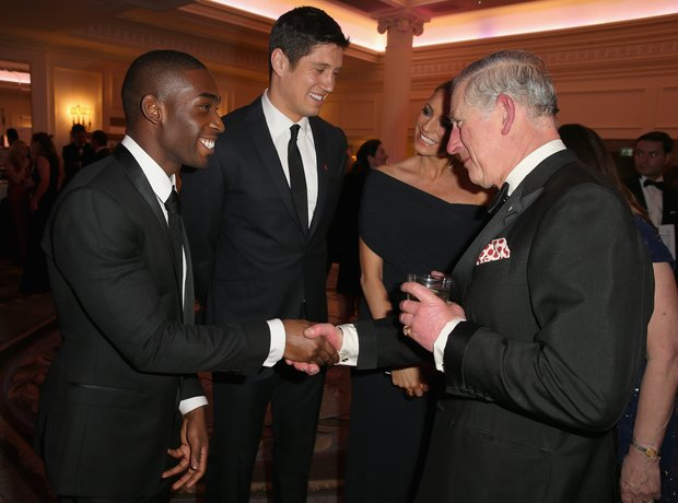 Tinie Tempah and Prince Charles