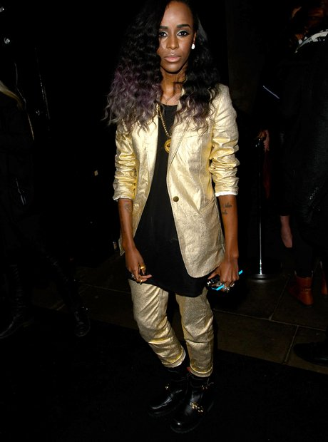 Angel Haze at the Brit Awards 2014 aftershow party
