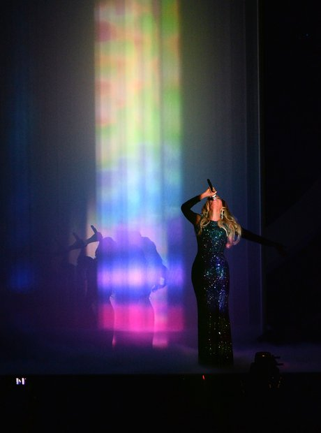 Beyonce at the Brit Awards 2014