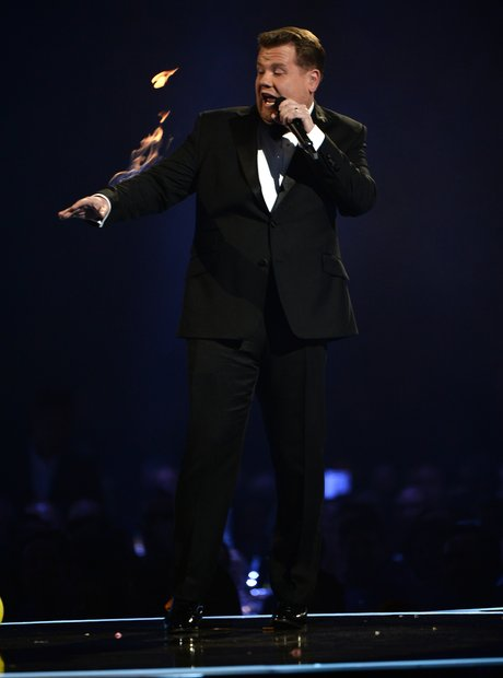 James Corden BRIT Awards 2014