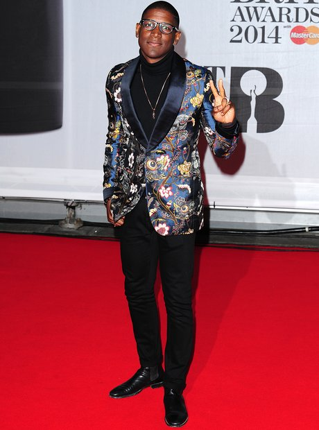 Labrinth BRIT Awards 2014 Red Carpet