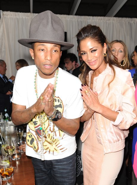 Nicole Scherzinger and Pharrell BRITS Afterparty 2