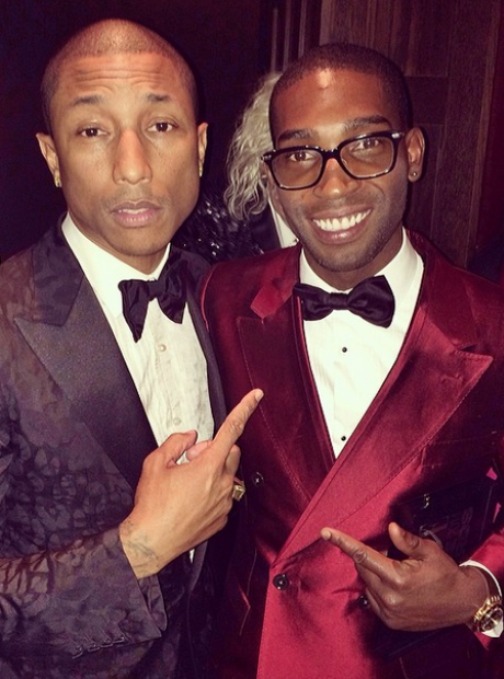 Pharrell and Tinie Tempah