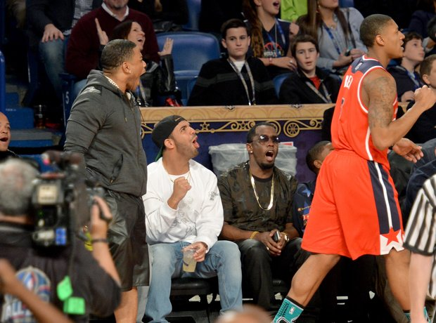 Drake P Diddy basketball game