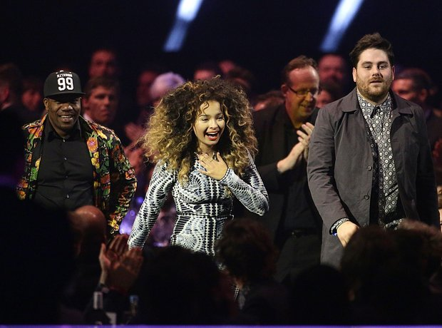 Rudimental and Ella Eyre BRIT Awards 2014