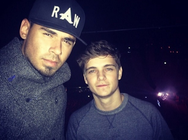 Afrojack and Martin Garrix
