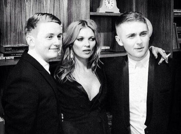 Disclosure and Kate Moss