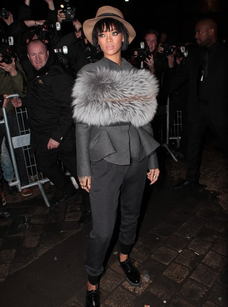 Rihanna Paris Fashion Week 2014