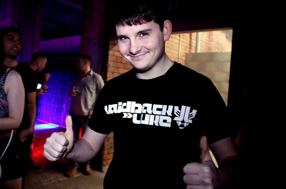 Laidback Luke fan t-shirt at the Victoria Warehouse