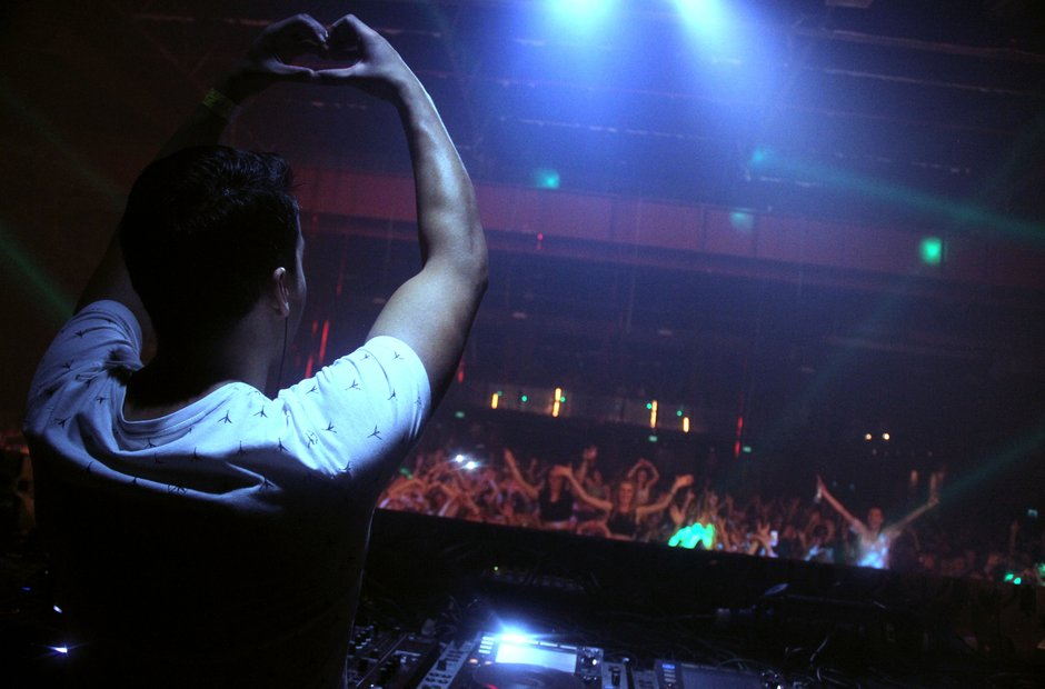 Laidback Luke at the Victoria Warehouse