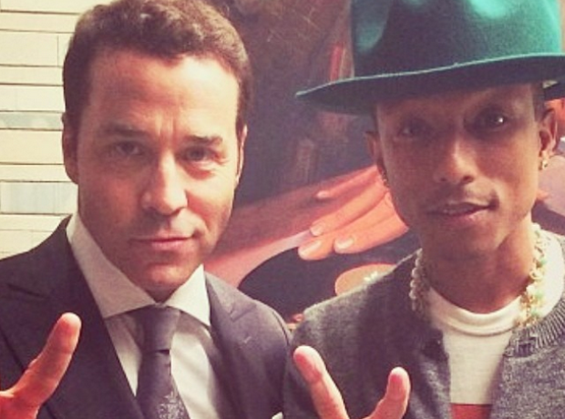 Ari Gold/ Jeremy Piven Pharrell
